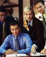 Executives at Desk